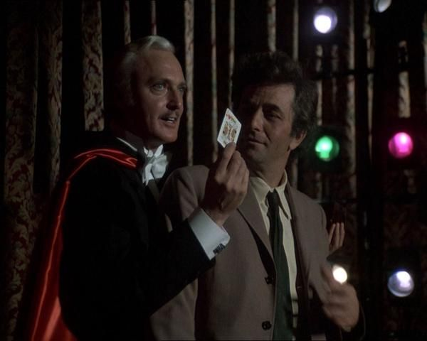 """From the """"Now You See Him"""" episode. Jack Cassidy was a favorite guest and also appeared in Publish or Perish and Murder by the Book. In both of those he played a non-writing member of a 2 person writing team and his partner made the mistake of trying to dump him."""