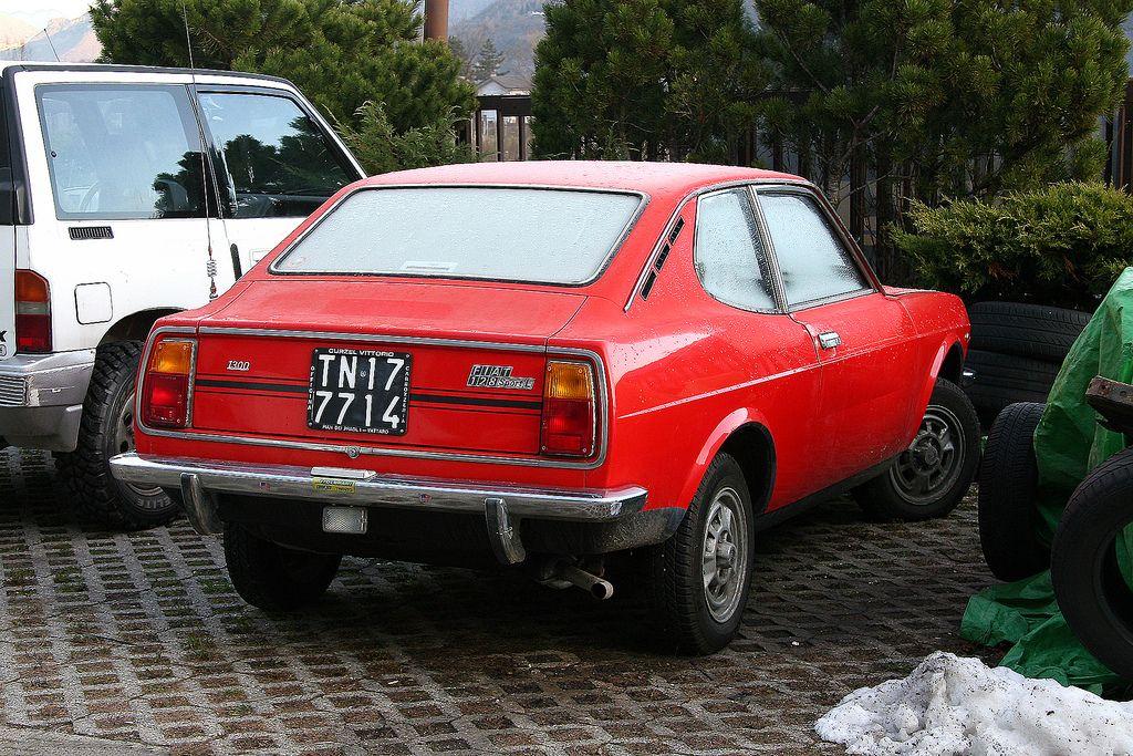 Fiat 128 Sport L Cc 1300 Con Immagini Fiat 128 Auto Vecchi