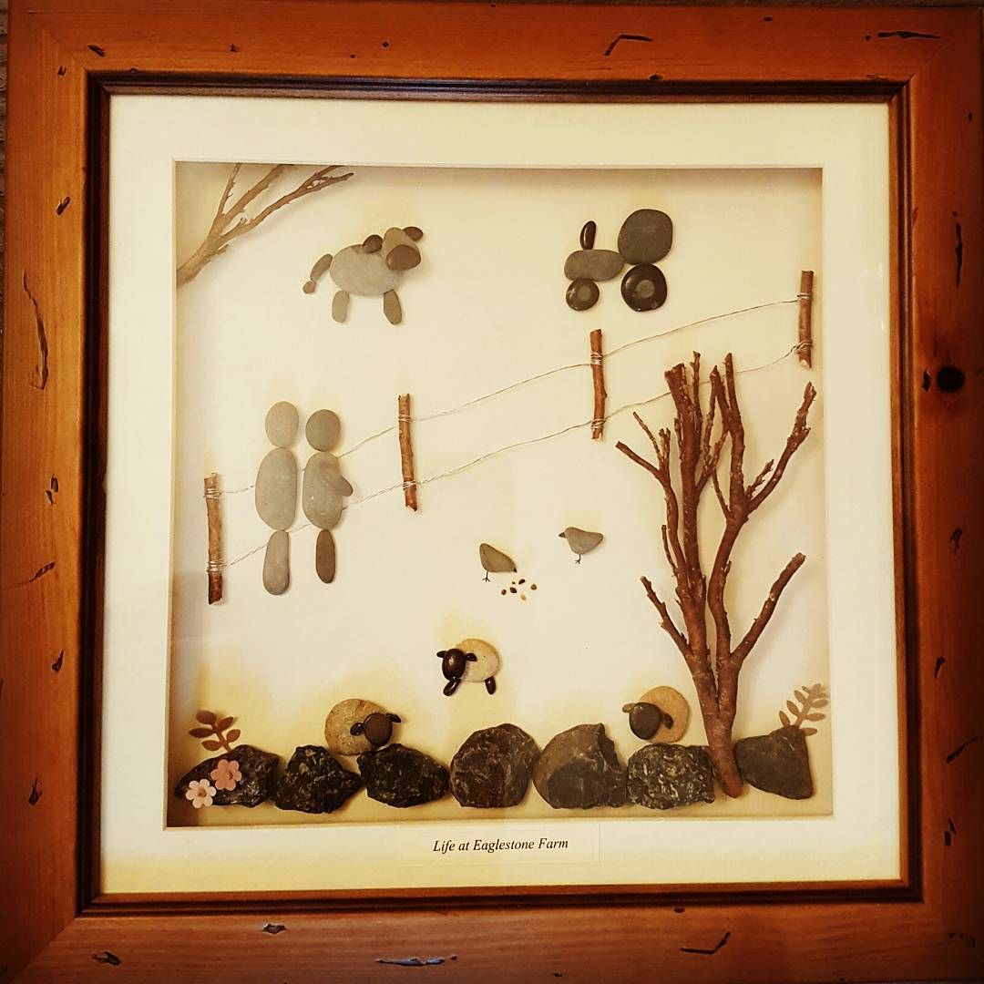 Country life.....pebble art #countrysidelife #farminglife #farming ...