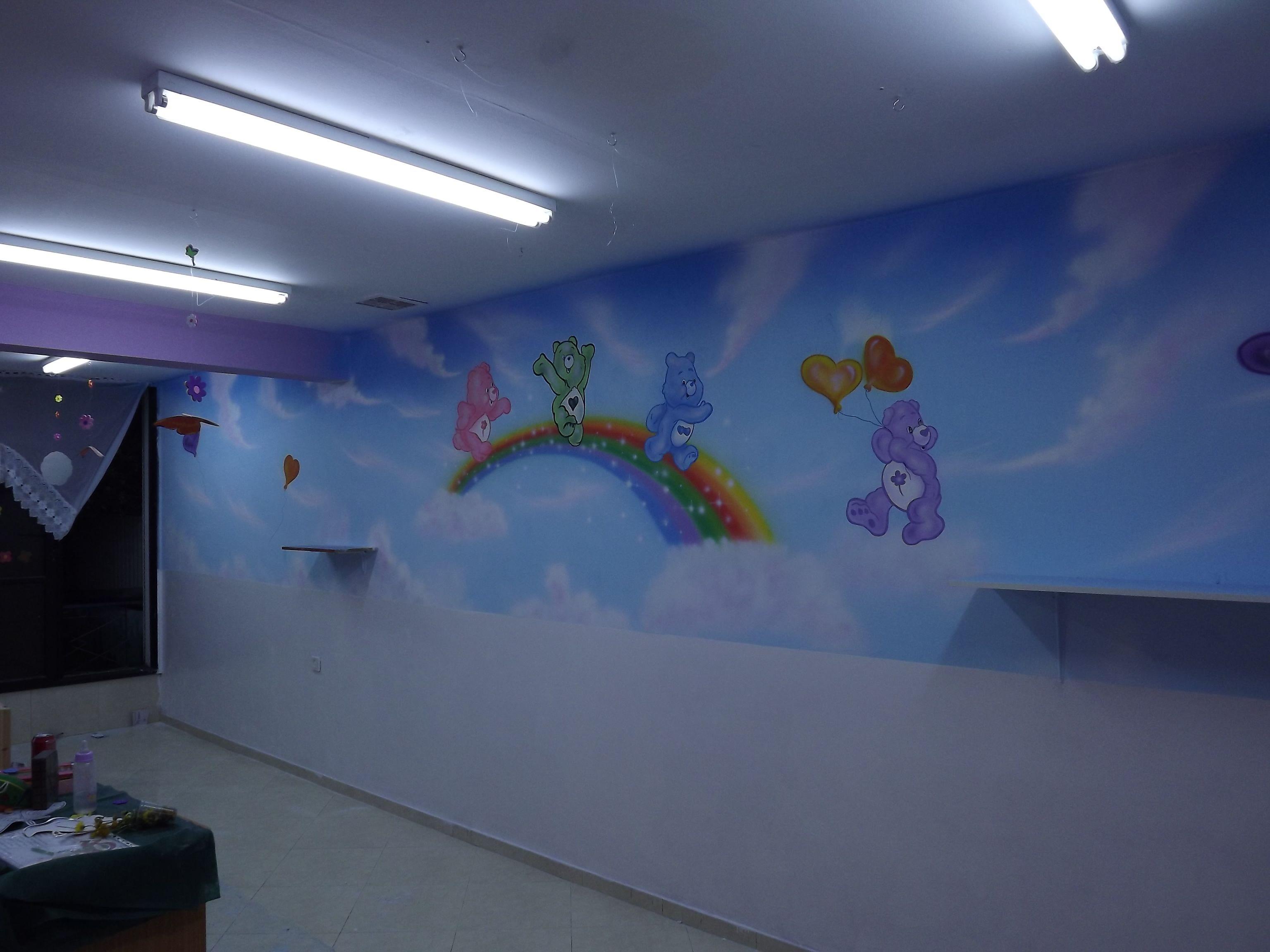 kindergarten murals'for more visit www.itzikart.biz ...