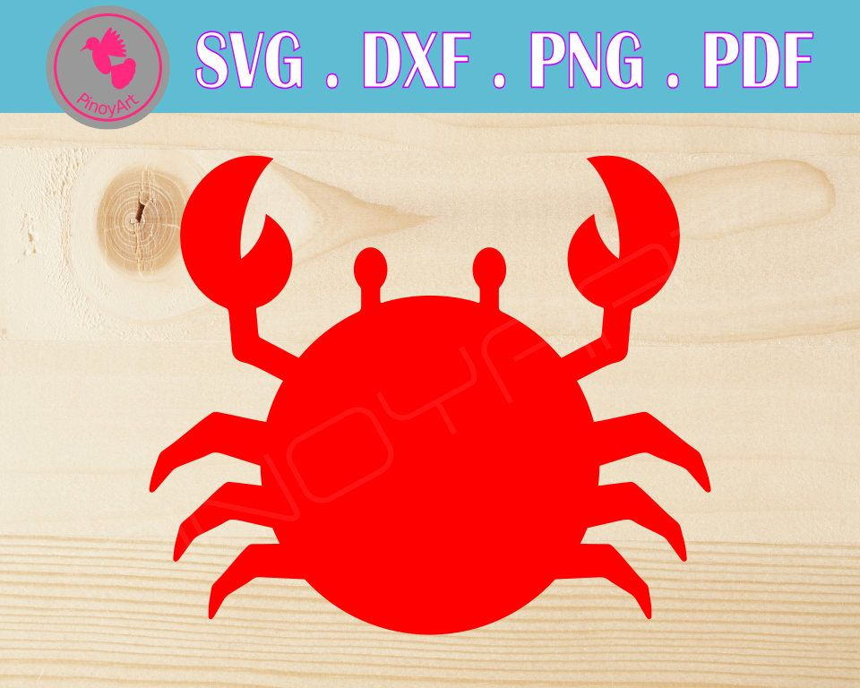 26+ Crab Svg, Crab Dxf, Cuttable File DXF
