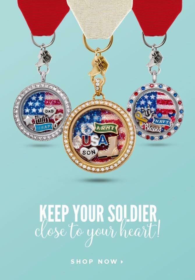 #yoursoldier #AmericanFlag #Swarovskicrystal flag #militarycharms