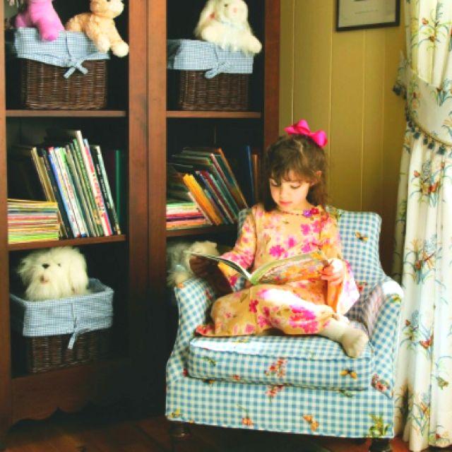 Childrens reading corner Vintage  Abes room ideas