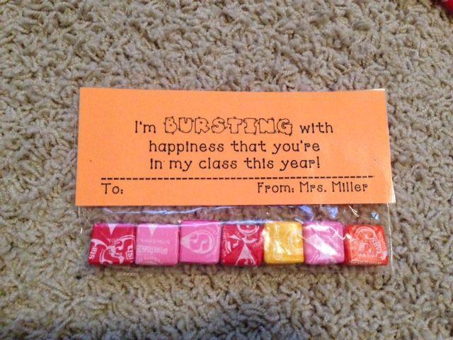 Meet the Teacher Night! Cute gift for students #meettheteachernight Meet the Tea…