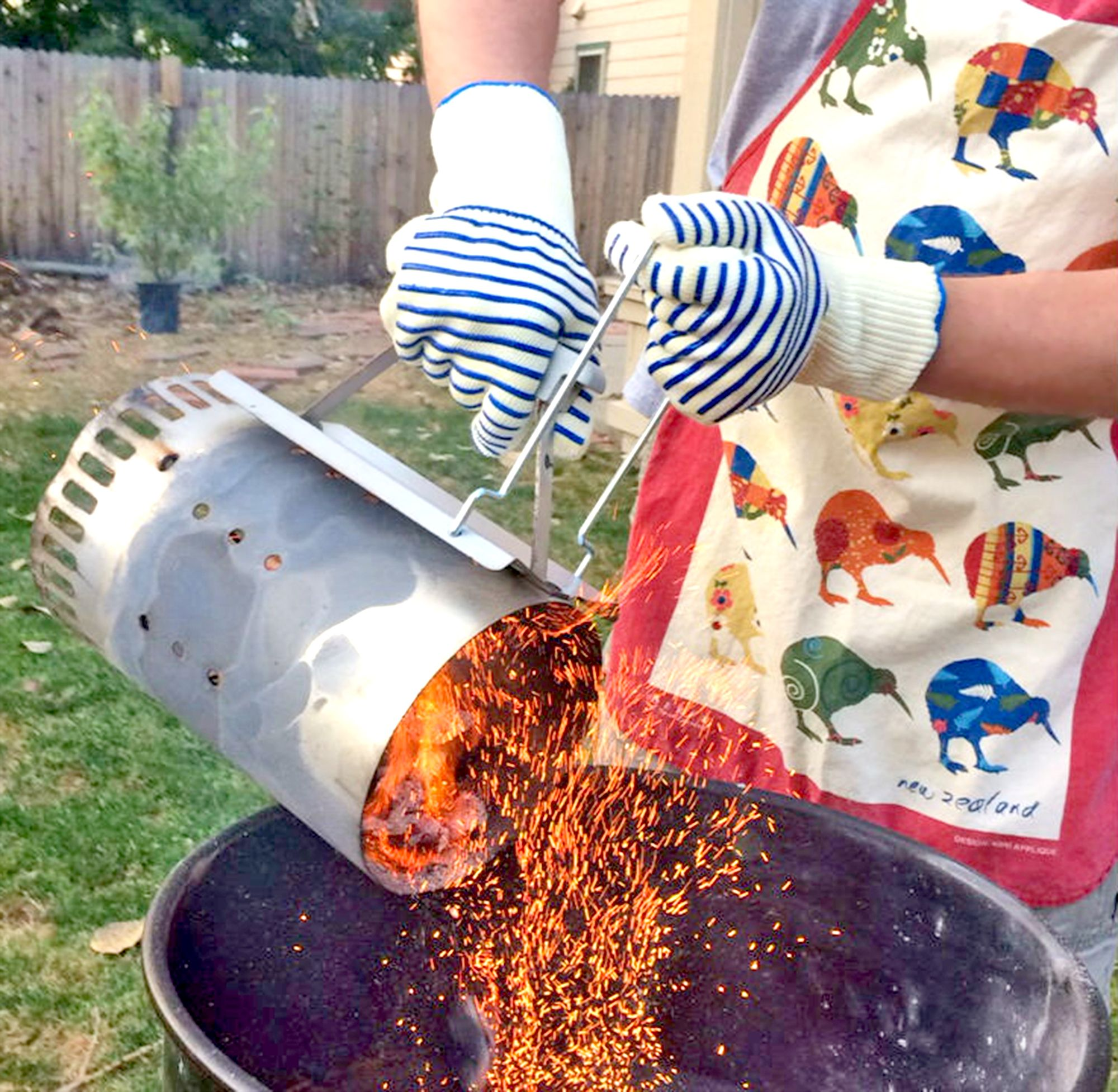 The Outdoors Way Grilling Gloves in Action! Now at Amazon! http://www.amazon.com/Grilling-Resistant-Comfortable-Experience-Protection/dp/B0147VFZ3Y/?keywords=the+outdoors+way+grilling+gloves&qid=1443751444&ref=sr_1_9&ie=UTF8&sr=8-9