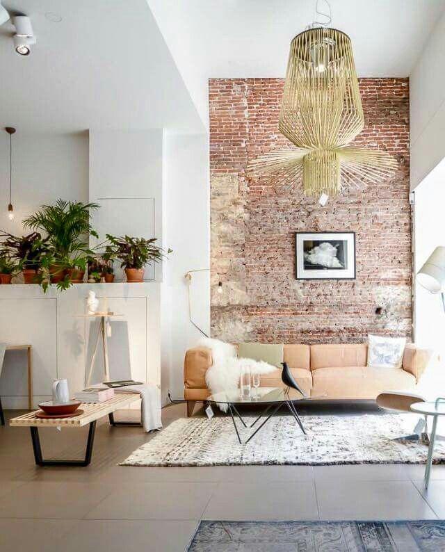 Bedroom Sets For Girls White Brick Wallpaper Bedroom Rectangular Bedroom Design Ideas Kids Bedroom Cupboard Designs: Love This Space. Old Red Brick Feature Walls, High