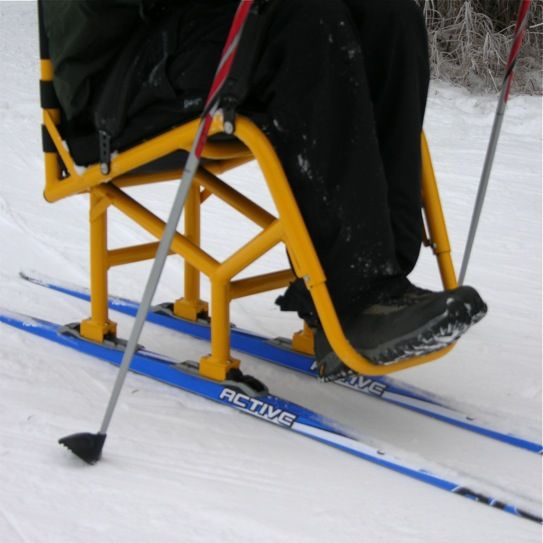 The Lasher Sport XC-Ski Is An Aluminum Frame Ski With