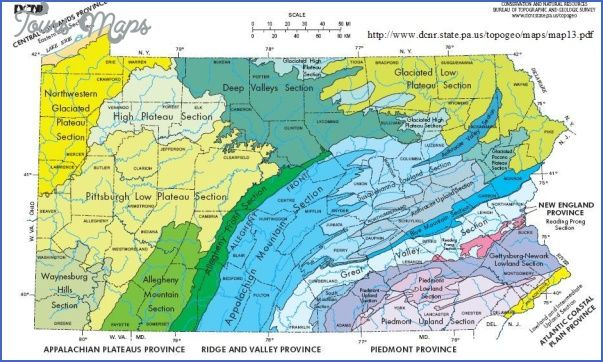 Laurel Highlands Hiking Trail Map Pennsylvania Toursmaps Com