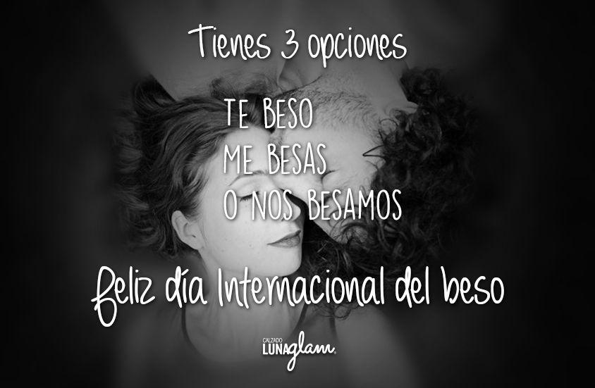 #FelizMiercoles #DiaInternacionalDelBeso, te doy 3 opciones..