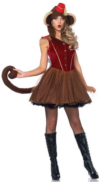 wind up monkey costume - Halloween Monkey Costumes