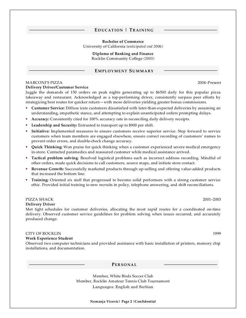 Resume Sample for Fresh Graduate Cool Sample Resume