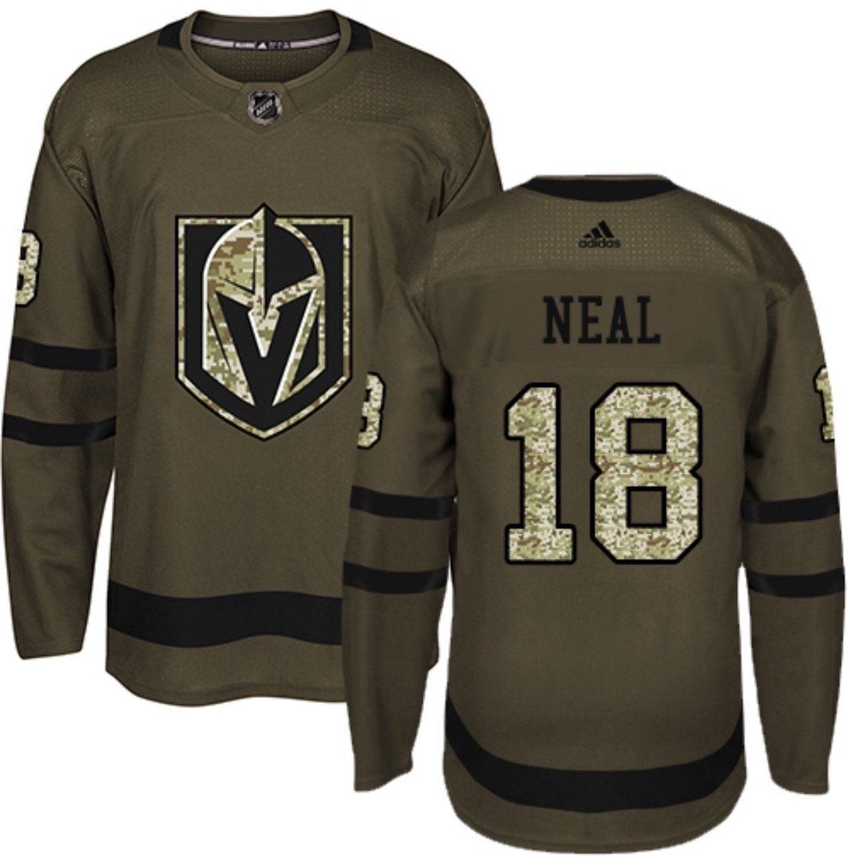 Vegas Golden Knights Premier Adidas NHL Home & Road