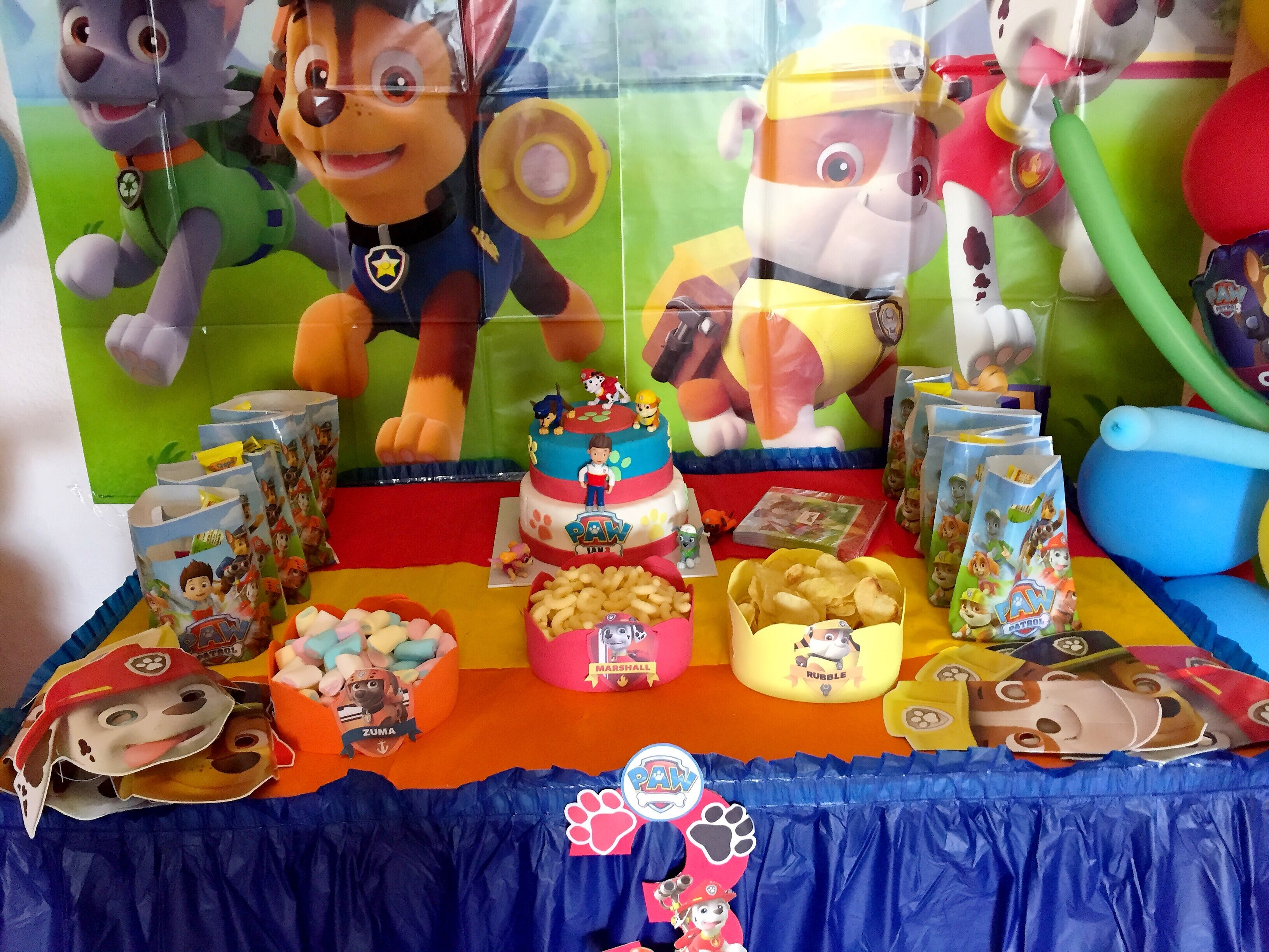 Patrulla canina decoraci n cumplea os infantil ideas paw patrol birthday party decoraci n - Ideas cumpleanos infantiles ...