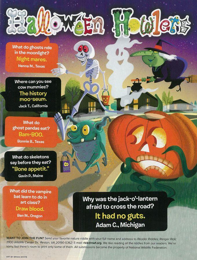 Halloween Howlers Halloween Jokes from Ranger Rick
