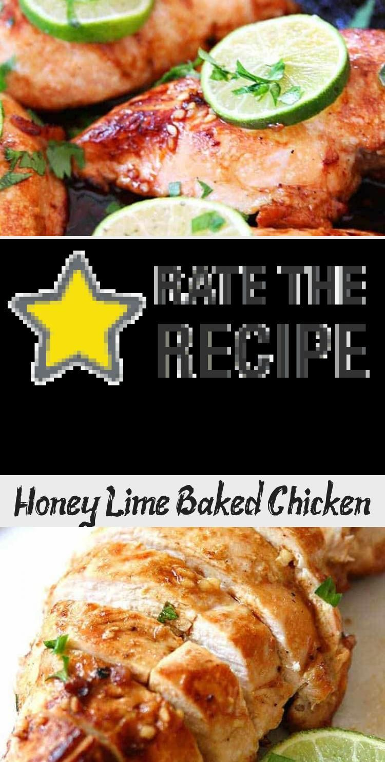 Honey Lime Baked Chicken Breasts are so moist and juicy! Easy baked chicken recipe in less than 30 minutes. Perfect low carb dinner the whole family will love! #chicken #dinner #easyrecipe #lowcarb #livinglocurto #GreekChickenRecipes #RotisserieChickenRecipes #GarlicChickenRecipes #OrangeChickenRecipes #ChineseChickenRecipes