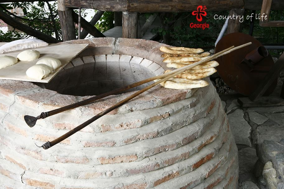 Georgian bread baking culture.