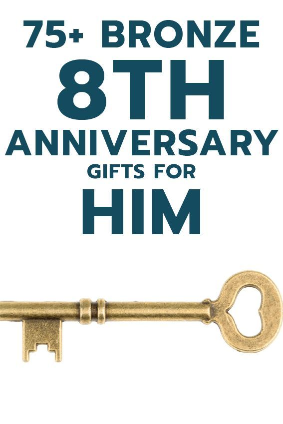 75 Bronze 8th Anniversary Gift Ideas For Him Unique Gifter Bronze Anniversary Gifts Anniversary Gifts Year Anniversary Gifts