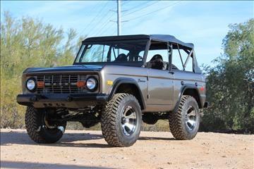 1971 Ford Bronco for sale in Scottsdale, AZ