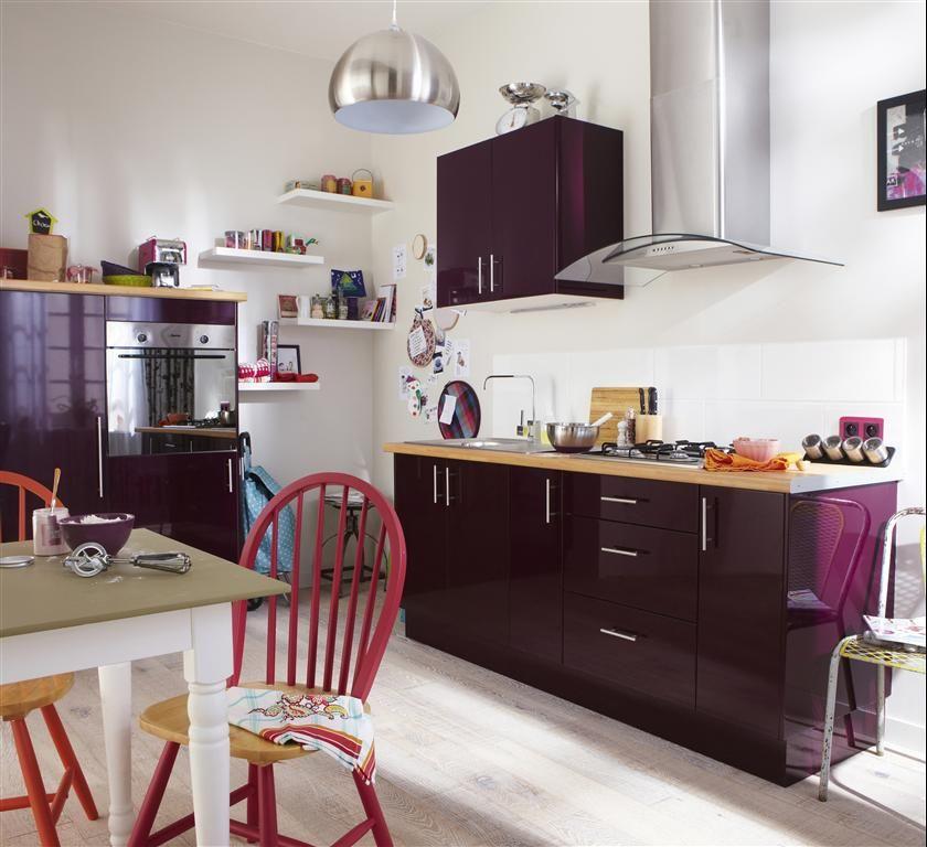 Nouvelle Cuisine équipée: Cuisine Violet, Meuble