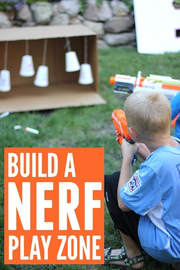 create a fantastically simple nerf family play zone fun ideas for