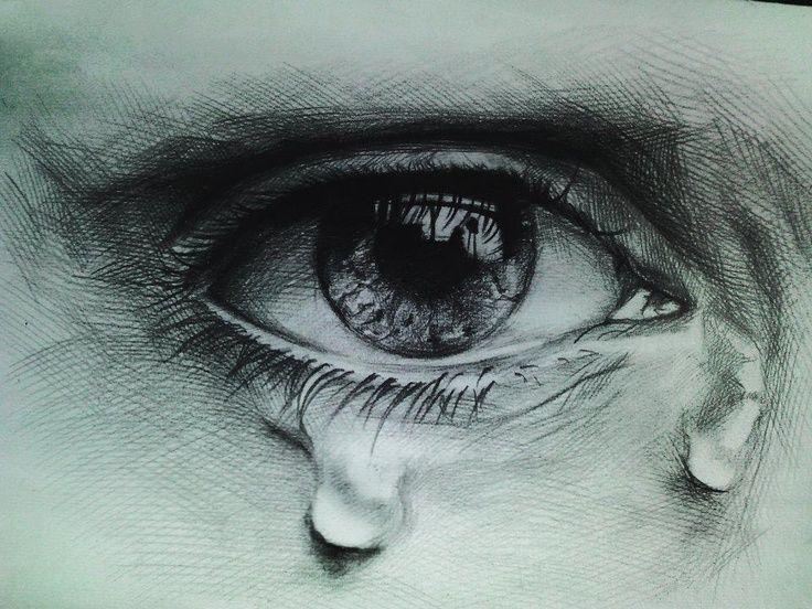 صور عيون حزينة 2021 رمزيات دموع عيون حزينة ميكساتك In 2021 Art Sketch Painting Eye Art