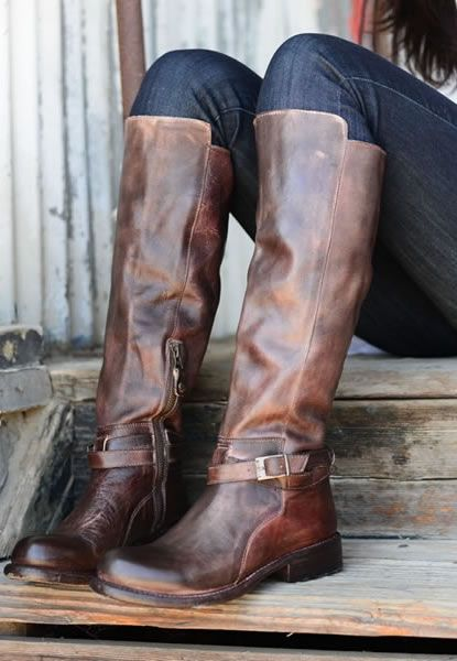bed stu $260 rustic brown belts bristol boots knee high leather