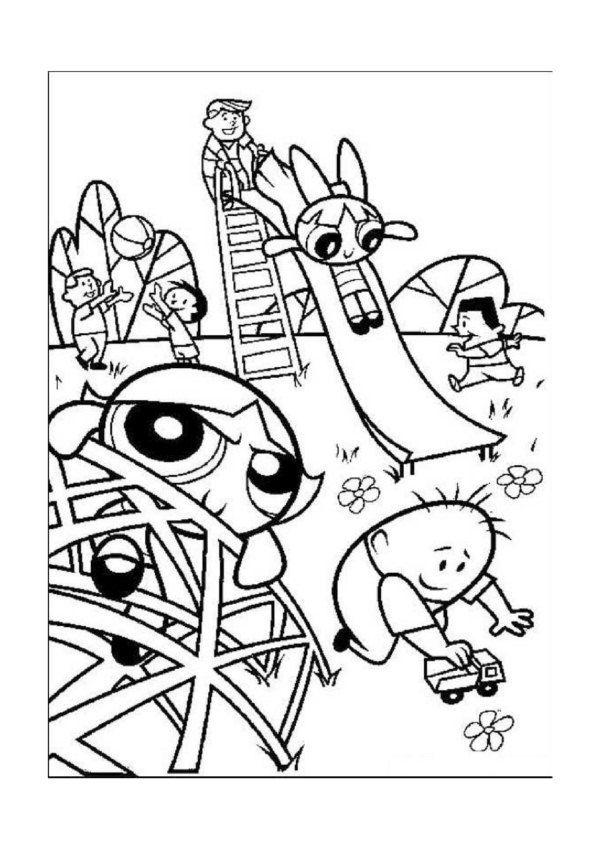 Dibujos para Colorear Supernenas 9 | Dibujos para colorear para ...