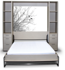 rumpus room australian made wall beds laminex fold away beds smartbed - Fold Away Bed