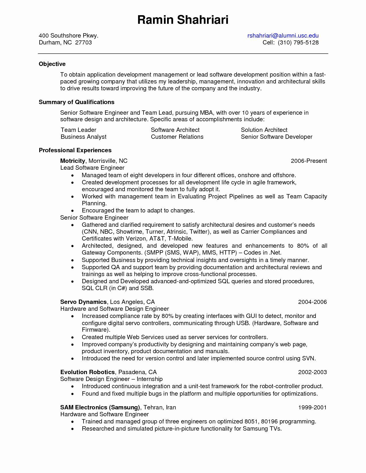 Quality Engineer Resume Keywords - BEST RESUME EXAMPLES