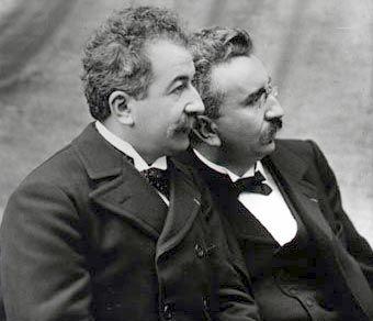 Hermanos Lumière. Biografía.