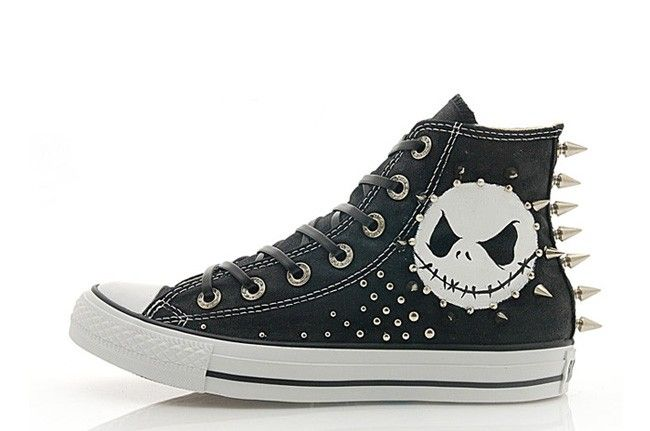 15 skull converse shoes skull designs