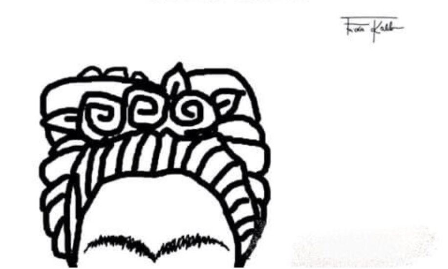 Imagenes De Frida Kahlo Para Imprimir: Pin En Get Inked