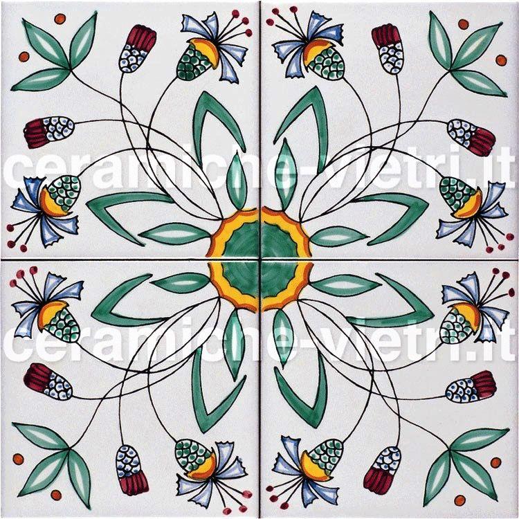 Ceramiche piastrelle 20x20 per pavimenti e rivestimenti vietri - Ceramiche vietri bagno ...