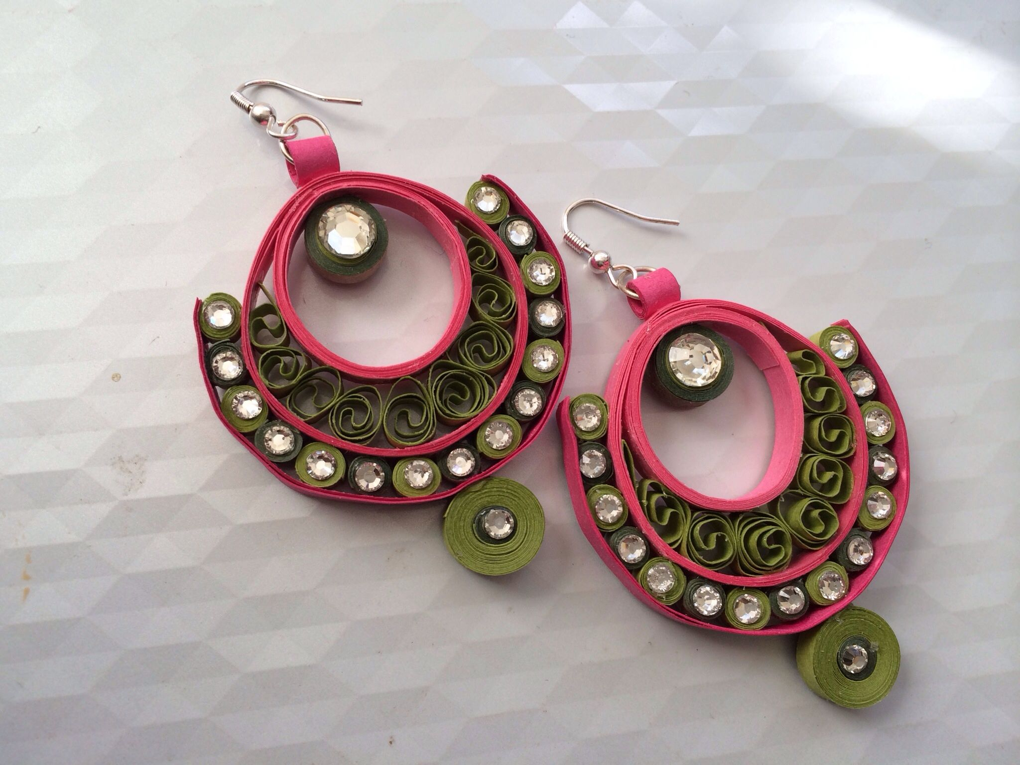 Buy paper quilling earrings