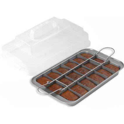 Amazon Com Chicago Metallic Silver Tone Slice Solutions Brownie