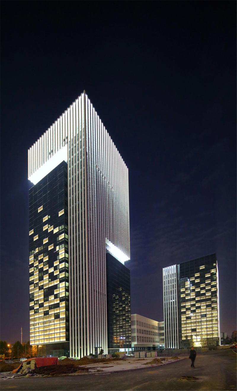 国际智能语音产业园夜景照明 Light Up点亮照明网官网 设计师原创高质