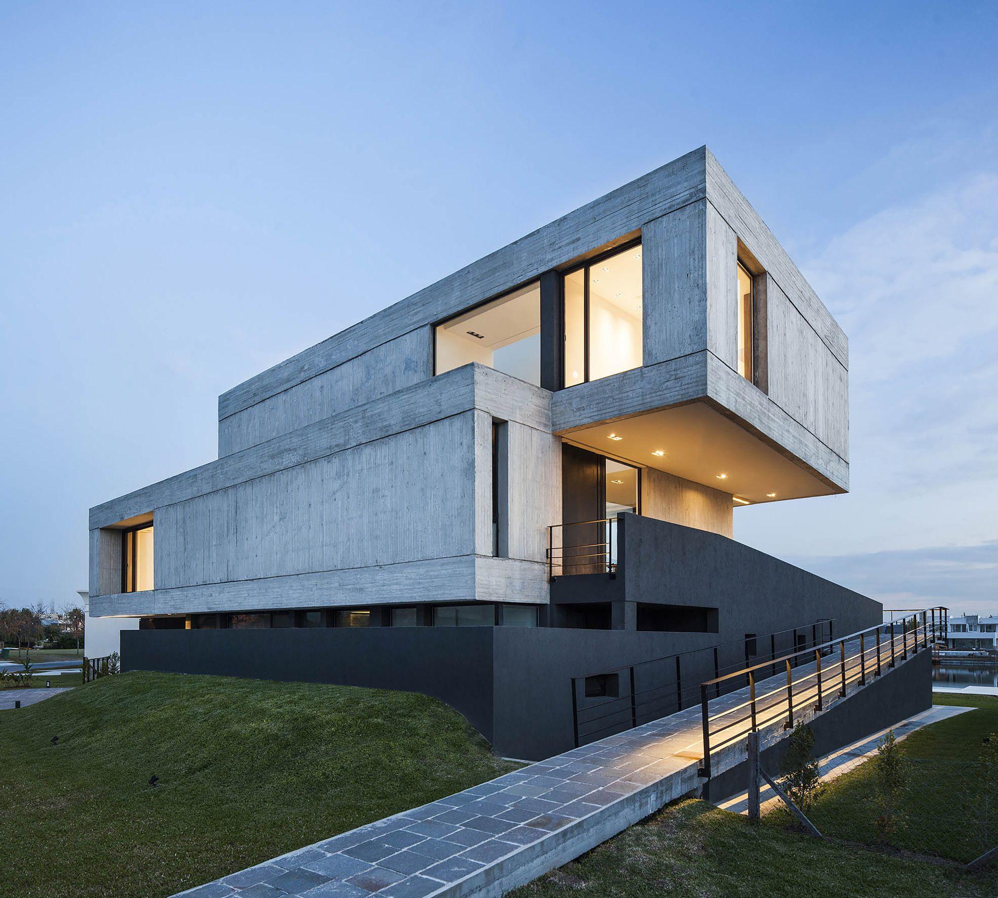 Casa duas caixas remy arquitectos house arquitectura for Casa minimalista barcelona capital