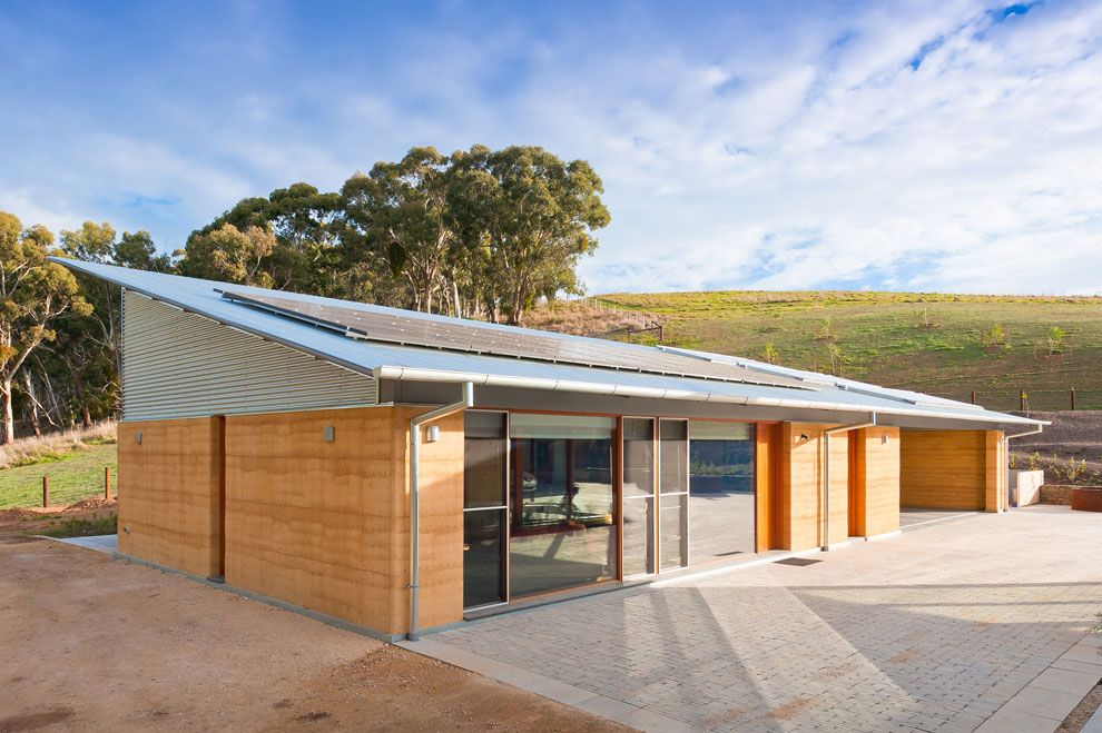 Tt architecture harris house rammed earth pinterest for Home designs south australia