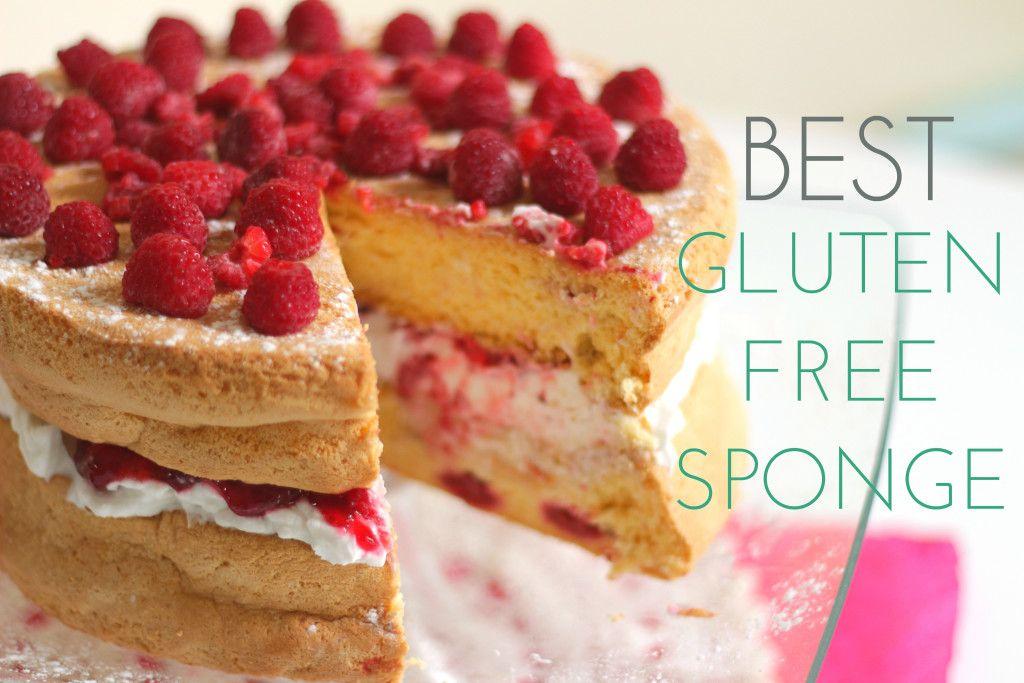 Best Gluten Free Sponge Cake With Raspberry Victoria Sponge