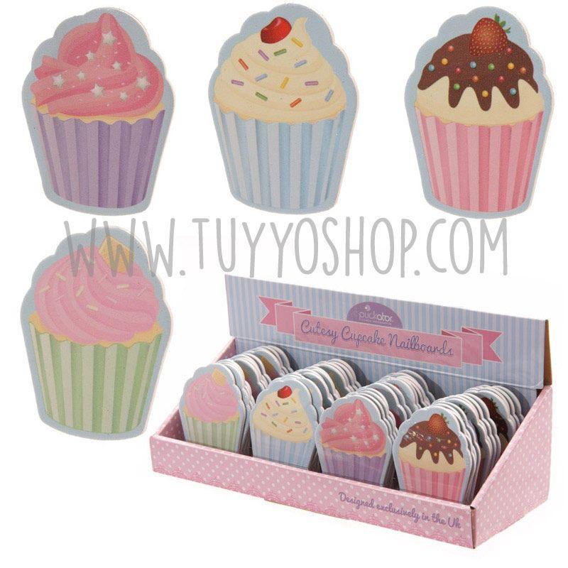 0,90€ - Lima de uñas modelo cupcake disponible en 4 diseños. Se ...