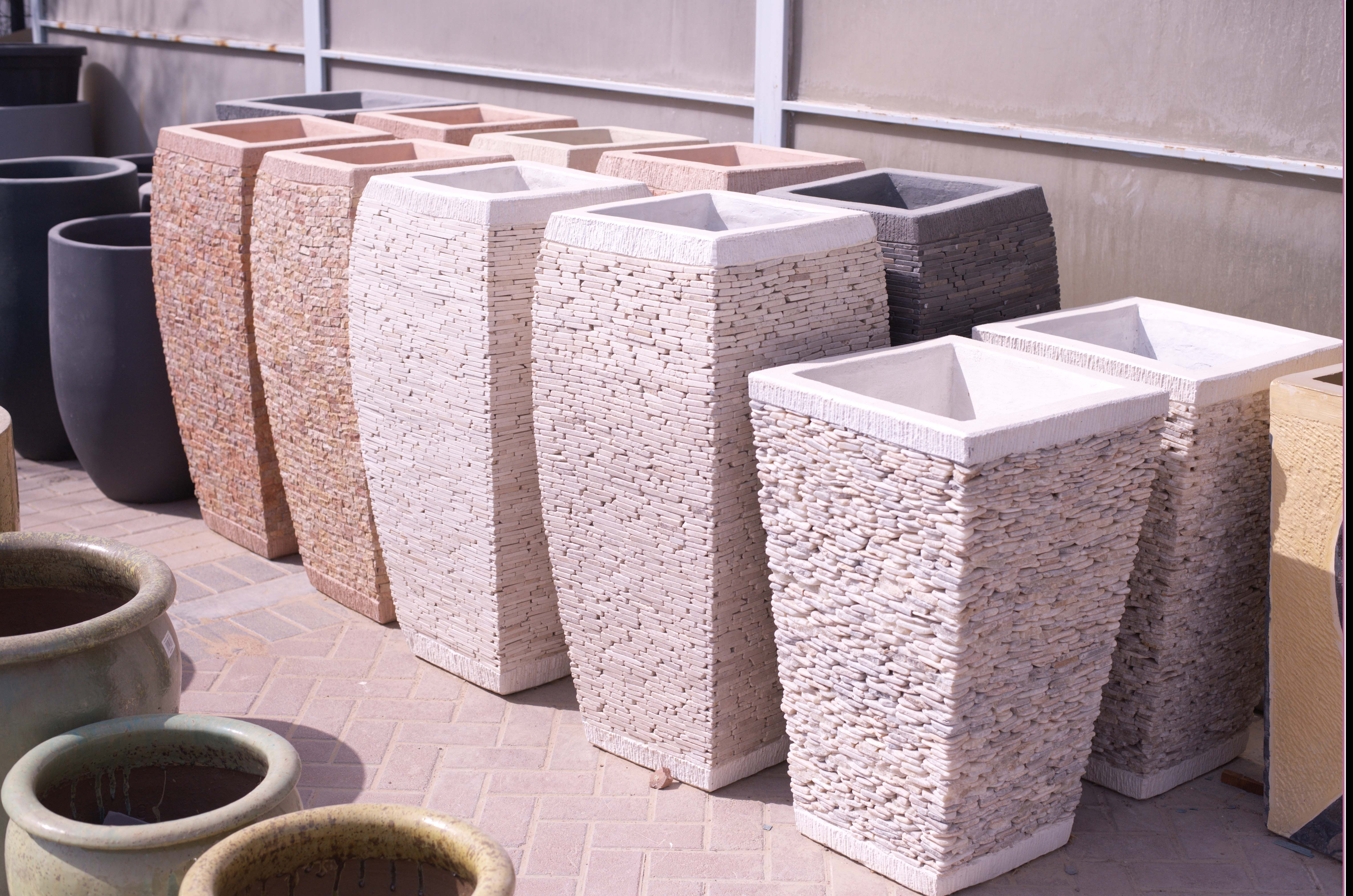 Add a decorative touch to your home with these stone