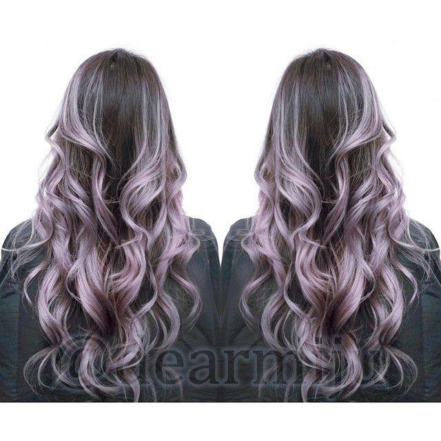 silver lilac ombre hair wwwpixsharkcom images