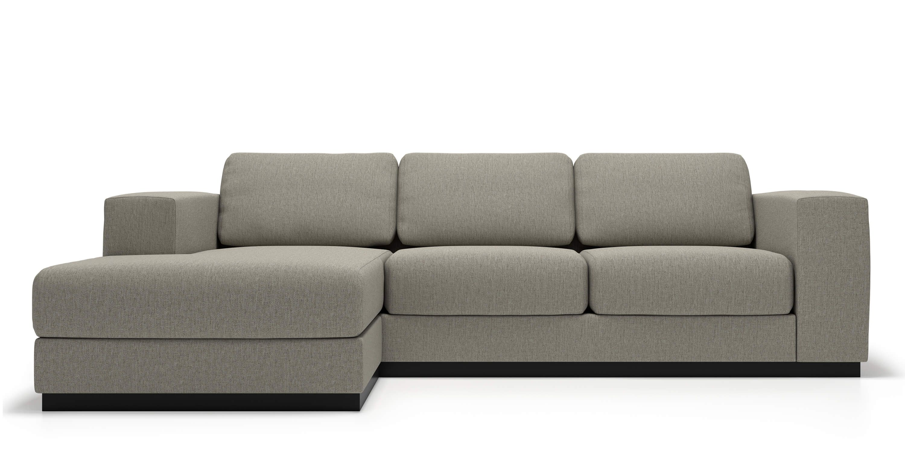 Fabric Sectional Sofas Canada Stellan Sectional Modern Sectionals Grey Sectional Sofa