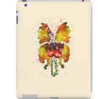 iPad Case/Skin www.teeliesfairygarden.com Slim fitting one-piece clip-on case which allows full access to all device ports. #fairyipadcase