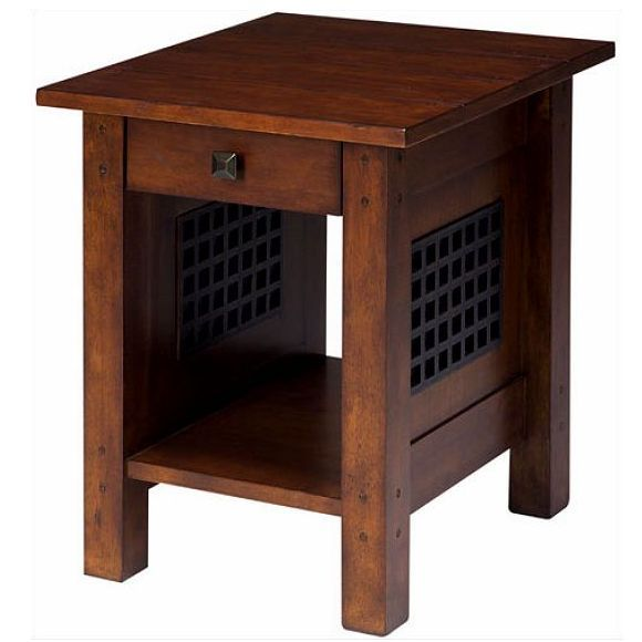Dunkles Holz End Tabellen #Wohnzimmer
