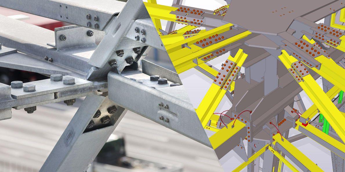 Structural Steel Connection Design | Tekla Structures UK