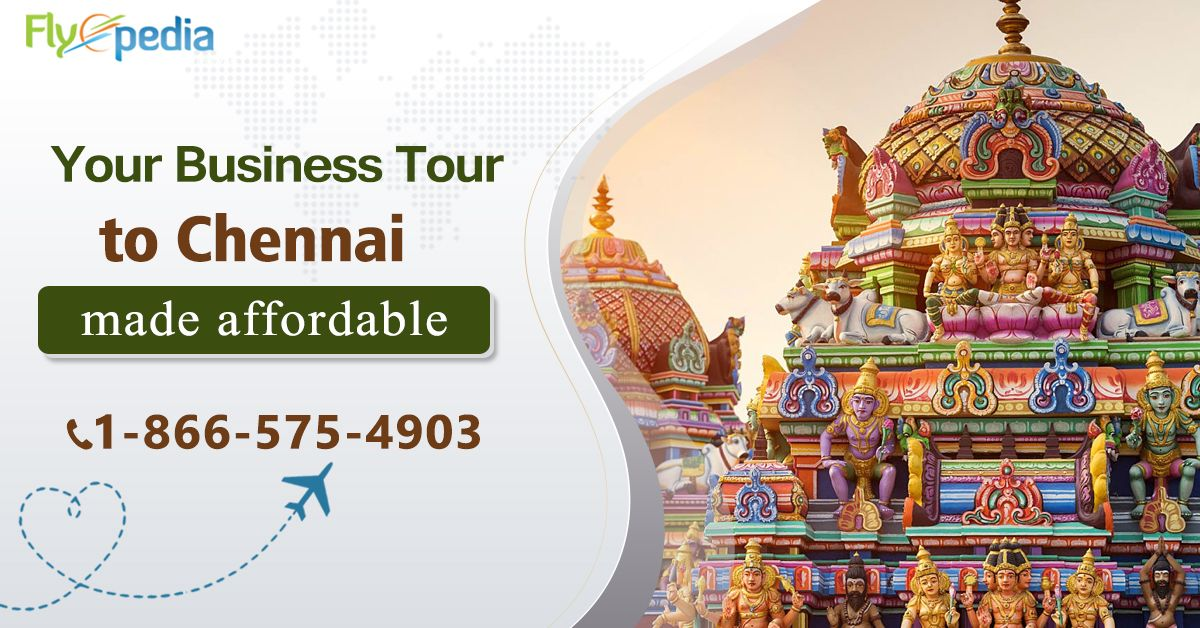 Book your #Chennai flight at best price. Click now to get exclusive deals on Chennai Business Tour with #Flyopedia.   For more information, call:- 1-866-575-4903 (Toll-Free).   #flightstochennai #travel #BusinessTour #TravelToChennai #Vacations #CheapFlights #CheapFlightDeals