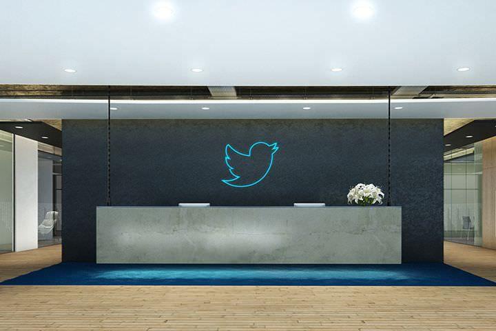 office reception. Twitter Reception Office