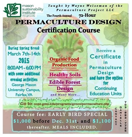 4th Annual Permaculture Design Certification Course: Registration ...