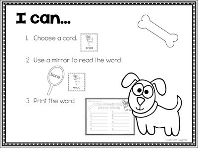 Using Mirrors to Build Vocabulary—with FREE Download